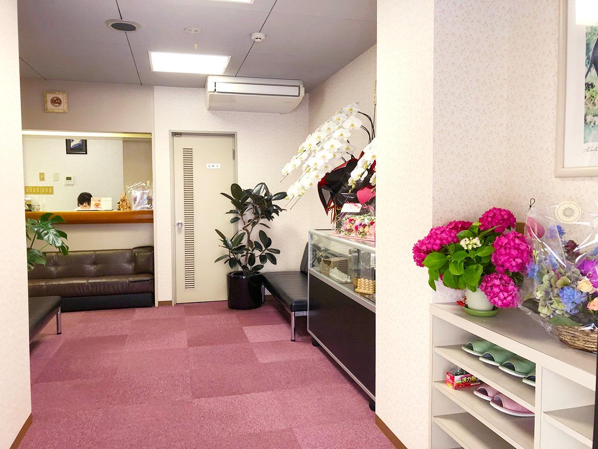 受付-高松市の女性専用整体ヘルスパーク